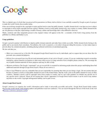 Songs of Zion (1908)