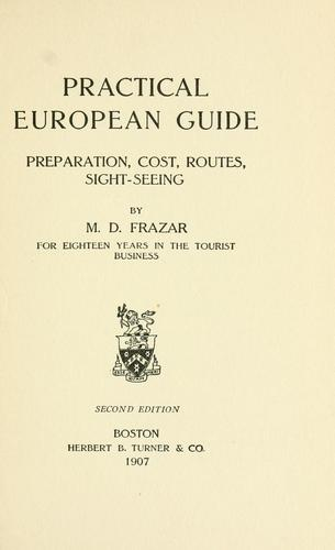 Practical European guide