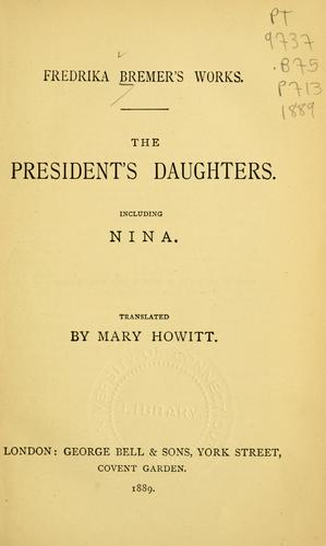The president's daughters