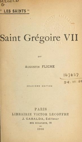 Saint Grégoire VII.