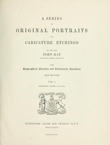 Download A series of original portraits and caricature etchings.