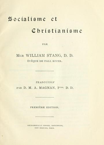 Download Socialisme et Christianisme