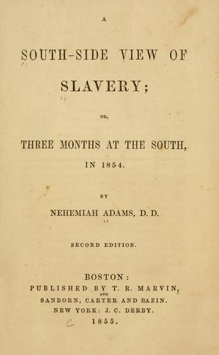 Download A south-side view of slavery