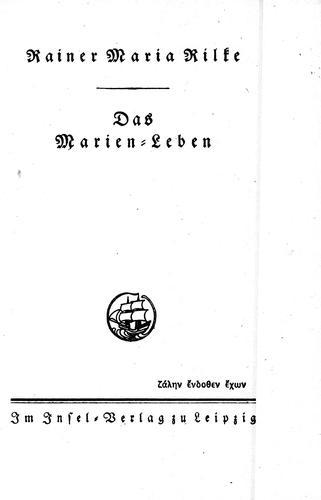 Download Das Marien-Leben