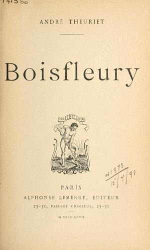 Boisfleury.