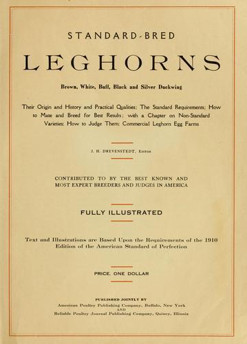 Download Standard-bred leghorns