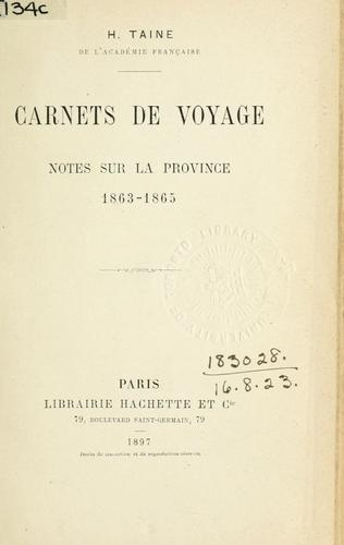 Download Carnets de voyage