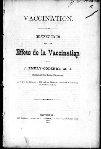 Download Vaccination