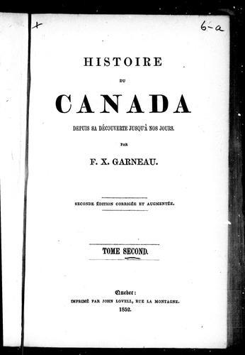 Download Histoire du Canada