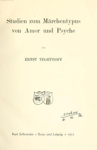 Download Studien zum Märchentypus von Amor und Psyche