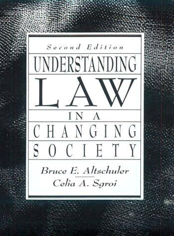 Download Understanding law in a changing society