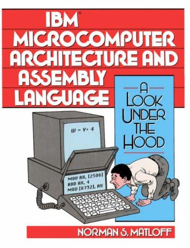 IBM Microcomputer Architecture and Assembly Language