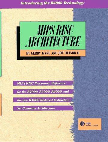 Download MIPS RISC architecture