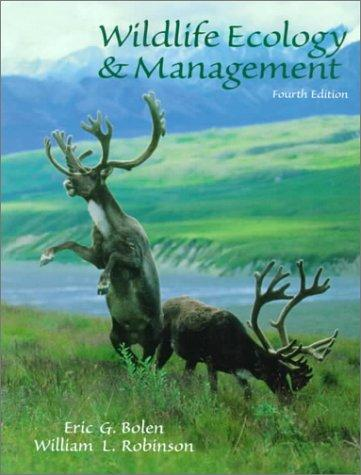 Download Wildlife ecology and management
