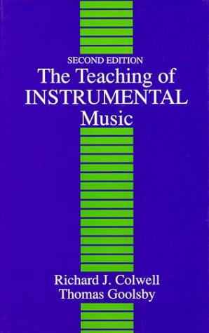 Download The teaching of instrumental music