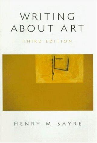 Download Writing about art