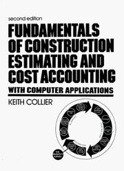 Fundamentals Of Construction Estimating And Cost Accounting: With Computer Applications PDF Download