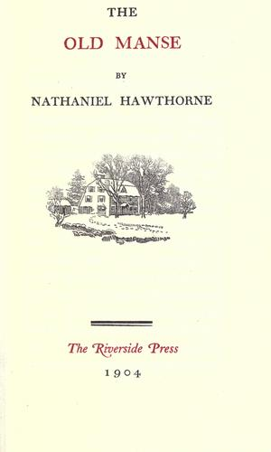 Download The old manse