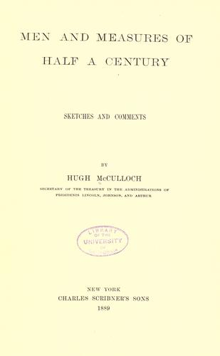 Download Men and measures of half a century