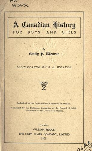 Download A Canadian history for boys and girls