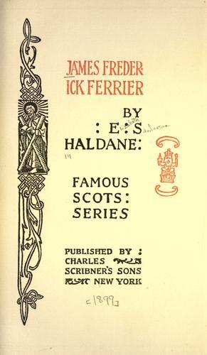 Download James Frederick Ferrier.