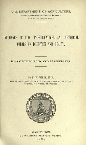 Influence of food preservatives and artificial colors on digestion and health