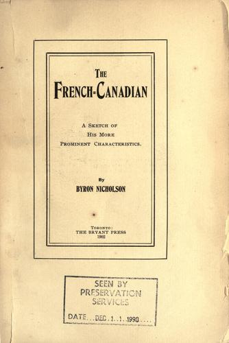 The French-Canadian