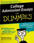 Cover of: College admission essays for dummies