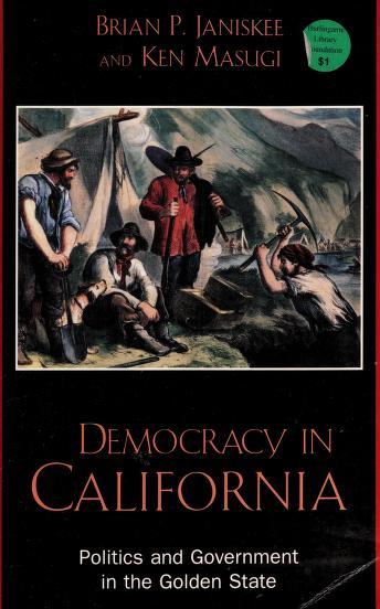 Democracy in California by Brian P. Janiskee