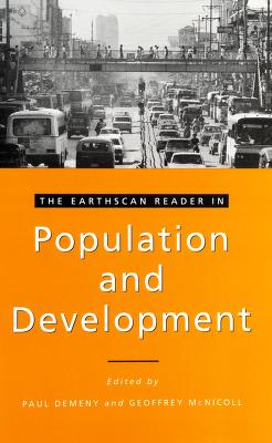 Cover of: The Earthscan reader in population and development | edited by Paul Demeny and Geoffrey McNicoll.