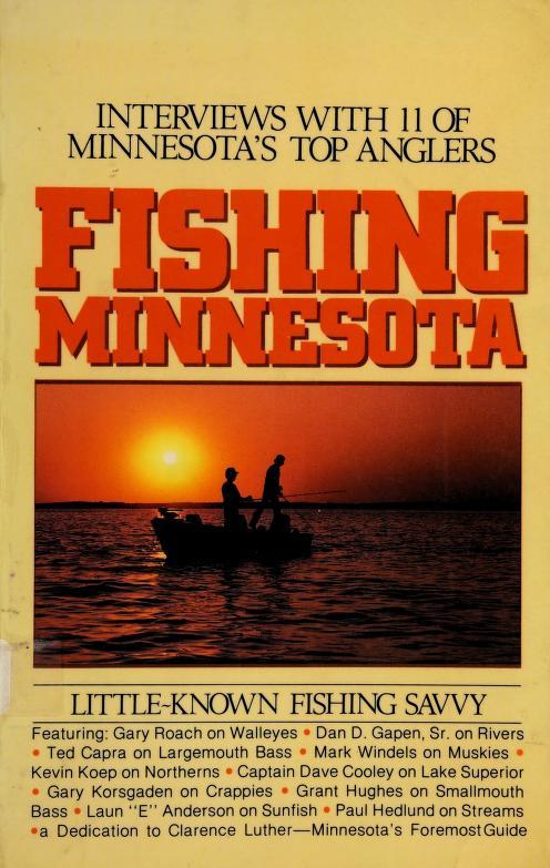 Fishing Minnesota by Bob Berg