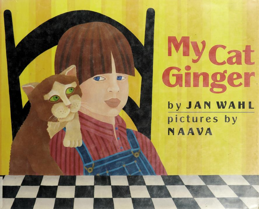 My cat Ginger by Jan Wahl