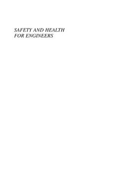Cover of: Safety and health for engineers by Roger L. Brauer
