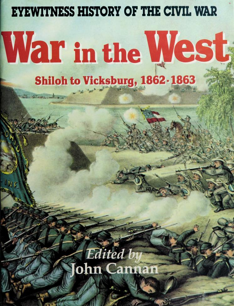 War in the West by edited by John Cannan