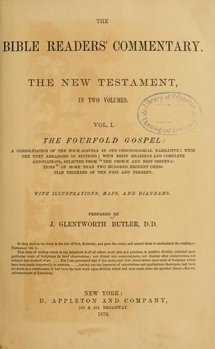 The Bible readers' commentary by James Glentworth Butler