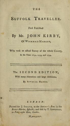 The Suffolk traveller by Kirby, John
