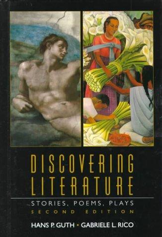 Discovering literature by Hans Paul Guth