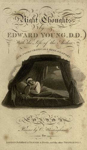 The complaint by Edward Young