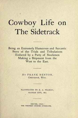 Cowboy life on the sidetrack
