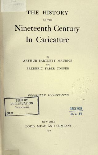 The history of the nineteenth century in caricature